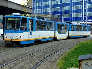 Dopravní podnik Ostrava - Ostrava tram.