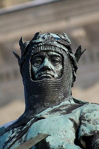Otto I, Duke of Bavaria - Statue of Otto I in front of the Bayerische Staatskanzlei, Munich.