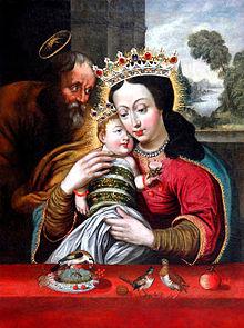 Znalezione obrazy dla zapytania obraz matki boskiej dzikowskiej