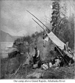 Our camp above Grand Rapids, Athabaska River.png