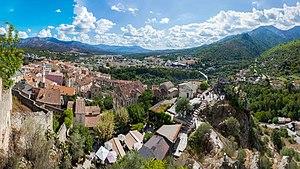 Corte, Haute-Corse - Image: Overview Corte, Corsica