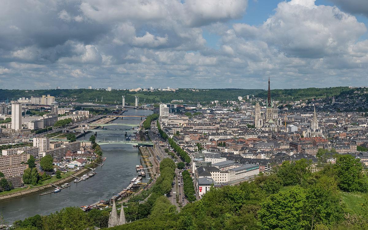 Rouen wikipedia for Piscine a rouen