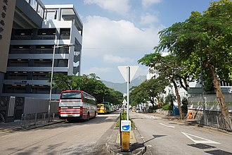 Oxford Road, Hong Kong - Oxford Road, south end