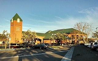 Oxnard Transit Center Passenger rail and bus station in historic downtown Oxnard, California