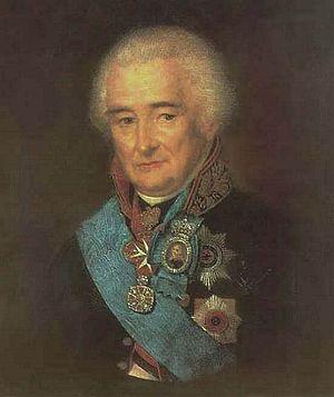 Pyotr Lopukhin - Portrait of Lopukhin by Stepan Shchukin