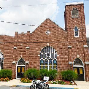 Windsor, Pennsylvania - Church on Main St. (SR 624)