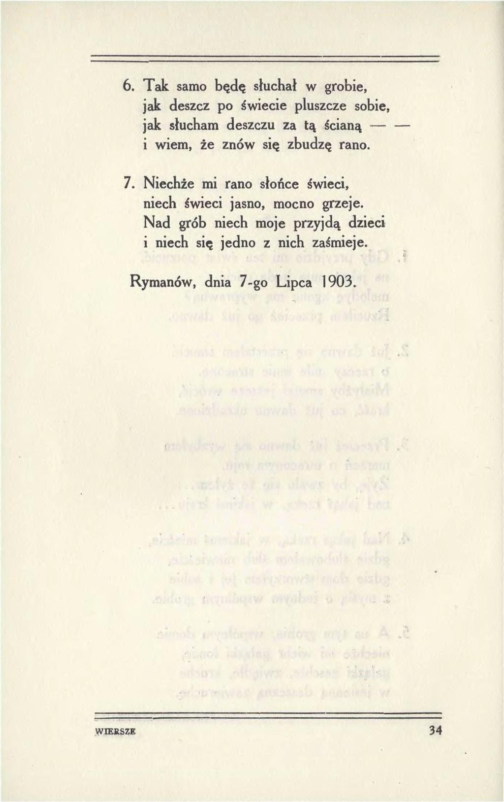 Stronapl Stanisław Wyspiański Wiersze Fragmenty