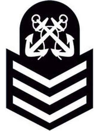 Navy League Cadet Corps (Canada) - Image: PO2 badge