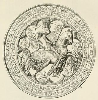Leopold IV, Duke of Austria - Seal of Leopold IV of Austria