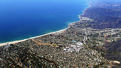 Pacific Palisades and Will Rogers State Beach, California