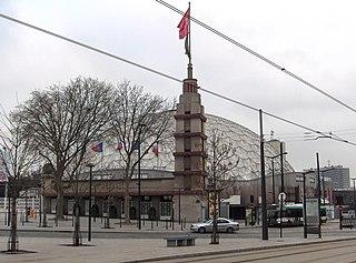 Dôme de Paris indoor arena located in the 15th arrondissement of Paris, France