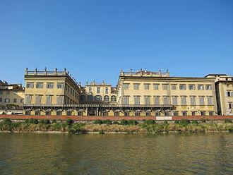 Palazzo Corsini (Via del Parione) - Facade from Oltrarno