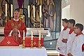 Palmsunday mass, St. Franciskus Xaverius, Catholic church, Arendal, Norway. Pater Sigurd Markussen,.jpg