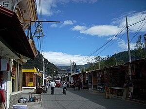 Calle Santander in Panajachel, Sololá departme...