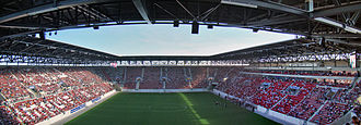 Augsburg Arena - Image: Panorama Impuls Arena 2
