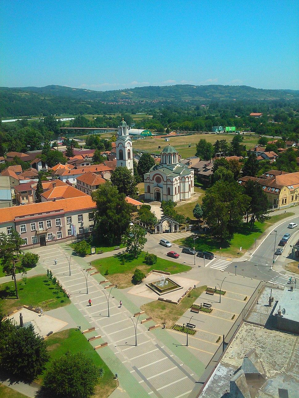 Panorama Trstenika