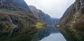 Panorama of Nærøyfjord - The world's most beautiful fjord (32021478376).jpg