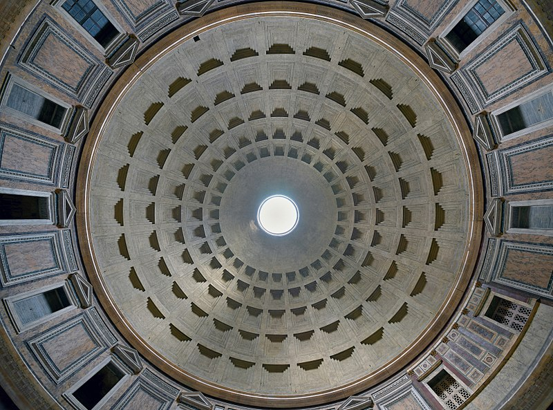 Datei:Pantheon (Rome) - Dome.jpg