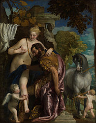 Paolo Veronese: Venus and Mars