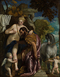 Paolo Veronese - Mars and Venus United by Love - Google Art Project.jpg