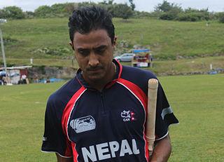 Paras Khadka Nepalese cricketer