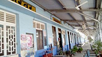 Paravur railway station - Railway station building, Paravur
