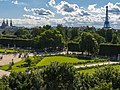 Paris 20130809 - Tuileries and Eiffel Tower from Grande roue des Tuileries.jpg