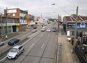 Parramatta Road - Image: Parramatta Road at Leichhardt