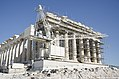Parthenon west wall reconstruction 2017.jpg