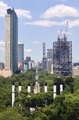 How to get to Paseo De La Reforma with public transit - About the place