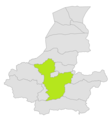 Pashtun Kot district location in map of Faryab province.png