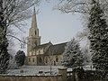 Pastel and frost - St Wilfrid's, Brayton - geograph.org.uk - 697376.jpg