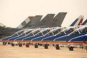 Patrouille de France, parked, Radom AirShow 2005, Poland