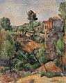 Paul Cézanne - Bibémus Quarry (Carrière de Bibémus) - BF34 - Barnes Foundation.jpg