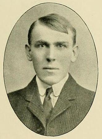 Paul G. Smith - Smith's senior portrait in L'Agenda 1905, Bucknell yearbook