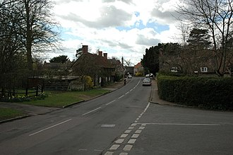 Pavenham - Image: Pavenham High Street