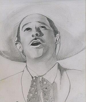 Pedro Infante. protagonista de Pueblo, canto y esperanza.