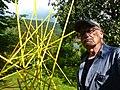 Pedro Meier Skulptur »Mikado in GELB«, 2015. Skulpturengarten, Atelier Gerhard Meier-Weg, Niederbipp. Foto © Pedro Meier Multimedia Artist.jpg