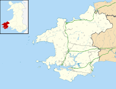 Cwm Gwaun is located in Pembrokeshire