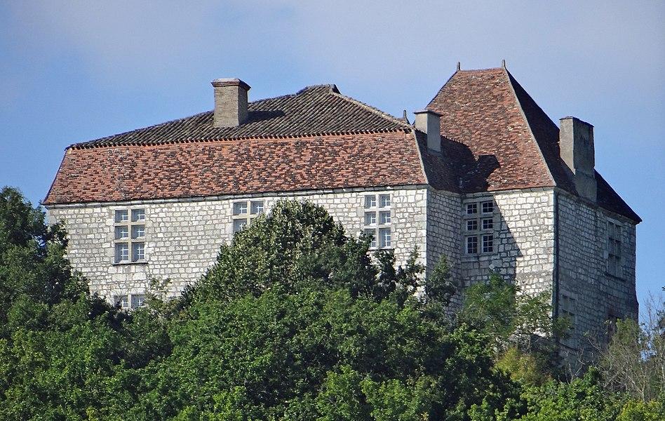 Penne-d'Agenais - Château de Noaillac - Façade sud