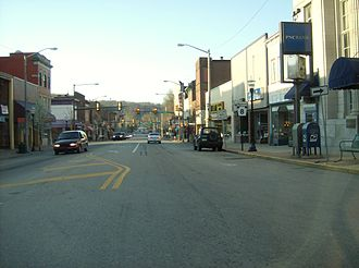 Pennsylvania Route 8 - Route 8 is a major street in downtown Butler.