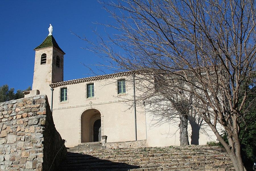 Péret (Hérault) - Chapelle Notre-Dame des Buis.