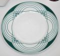 Peter Behrens Porcelain plate linear pattern 1901 BM.jpg