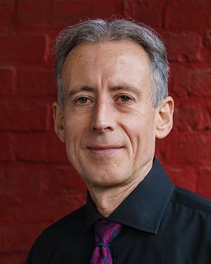 Peter Tatchell - Image: Peter Tatchell Red Wall 8by 10 2016 10 15