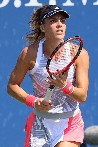 Andrea Petkovic - Petkovic at the 2016 US Open
