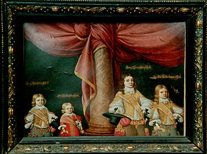 Pfuel - Children of the Pfuel family, mid 17th century