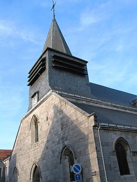 Philippeville (Belgium), the Saint Philip's church (1556).