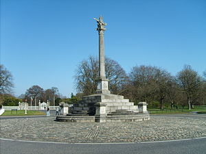 "Philip Stanhope, 4th Earl of Chesterfield - Chesterfield's ""Phoenix Monument"" (1746) in the Phoenix Park, Dublin"