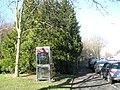 Phone box on main road at Langstone - geograph.org.uk - 689640.jpg