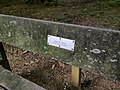 Photograph of a bench (OpenBenches 434).jpg